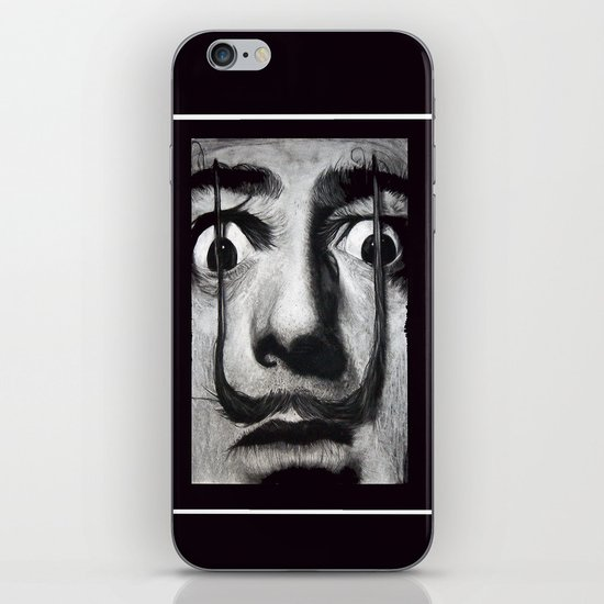 I am drugs ( Salvador Dali ) iPhone & iPod Skin