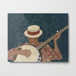Banjo Metal Print