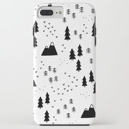 Woods in White iPhone Case