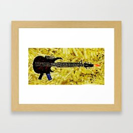 ROCK AND ROLL - 017 Framed Art Print