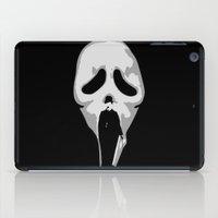 charlie chaplin iPad Cases featuring silent scream - charlie chaplin by gazonula
