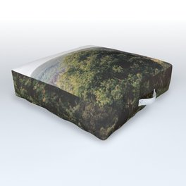 The Watchtower at Glendalough Outdoor Floor Cushion
