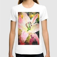 lily T-shirts featuring Lily by AlyZen Moonshadow