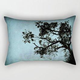 Bonsai Tree of the Night Rectangular Pillow