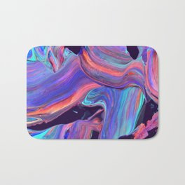untitled abstract Bath Mat