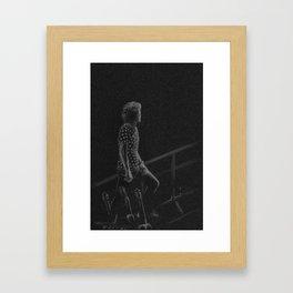 Harry Styles III Framed Art Print