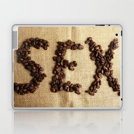 SEX - Coffee beans Laptop & iPad Skin