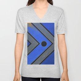Fish - Blue Unisex V-Neck