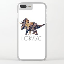 Herbivore Clear iPhone Case