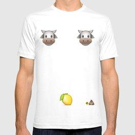 Milk Milk Lemonade Emoji T-shirt