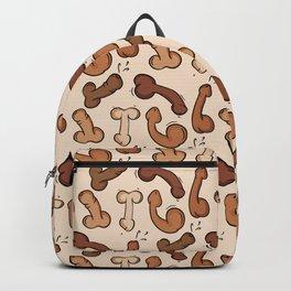 Penis dick pattern Edit Backpack