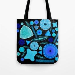 Diatoms Tote Bag
