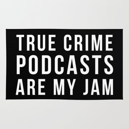 Crime Podcasts Rug