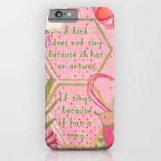 Bird Song Slim Case iPhone 6s