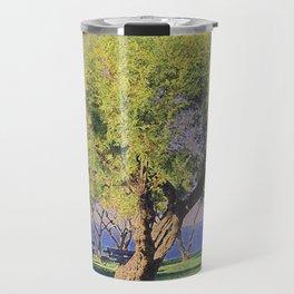 Tamarisk Trees Overlooking the Ocean Travel Mug