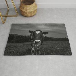 Dairy Cow Noir Rug
