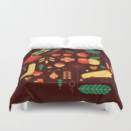 Countrylife #1 — Earth Duvet Cover