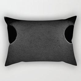 The Sad Holes Rectangular Pillow