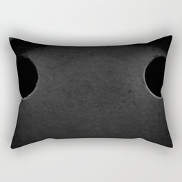 The Sad Holes Rectangular Pillow