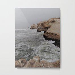 Cape Kiwanda  Cliffs Metal Print