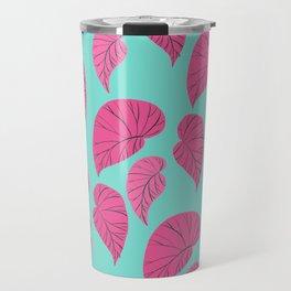 Begonias leaves Travel Mug