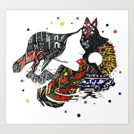 Puno Art Print