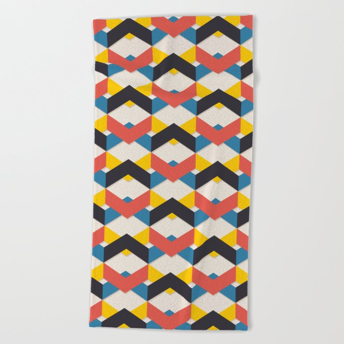 In the City Beach Towel