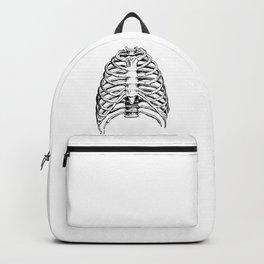Human Ribcage Anatomy Detailed Illustration Backpack