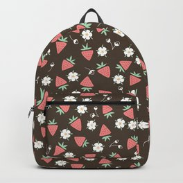 Strawberry Picking Backpack