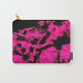 Happy Chaos (Pink) Carry-All Pouch