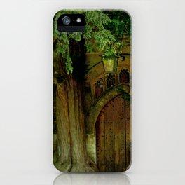 A Secret Door to a Magic Place? iPhone Case