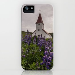 Vík í Mýrdal Church iPhone Case