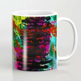 Go Wild - Mountain - Abstract painting Coffee Mug