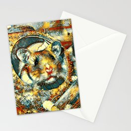 AnimalArt_Hamster_20170902_by_JAMColorsSpecial Stationery Cards
