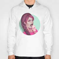 tooth Hoodies featuring Sweet Tooth by Wendy Stephens