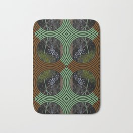 Nature Portals Pattern Bath Mat