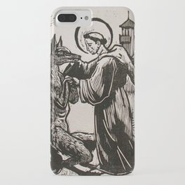 Compassion for a werewolf iPhone Case