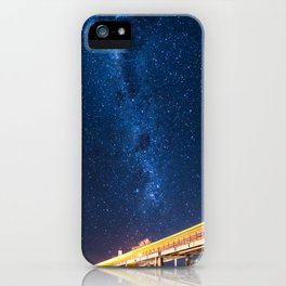 Milky Way Bridge iPhone Case