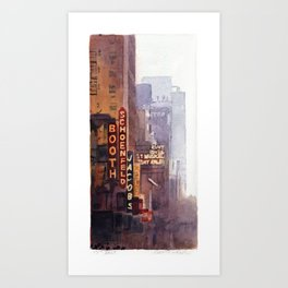 NYC - 45th Street Art Print