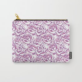 Elegant beautiful pink rose Carry-All Pouch