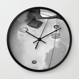 Magical Thinking No. 2N by Kathy Morton Stanion Wall Clock