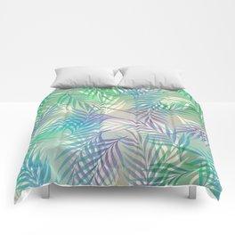 Palm Leaf Pattern Comforters