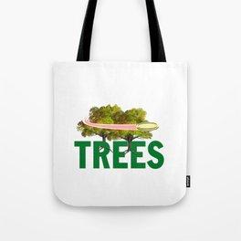 Splittin' Trees Funny Disc Golf Tote Bag
