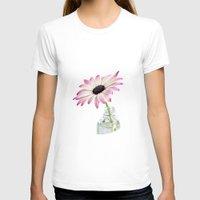 daisy T-shirts featuring Daisy by LebensART Photography