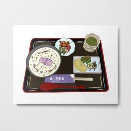 Nara Japanese Lunch Platter Metal Print