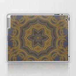 Goldblue Mandalic Pattern 5 Laptop & iPad Skin