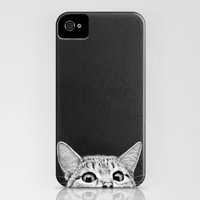 iPhone 4 Case featuring You asleep yet? by Laura Graves