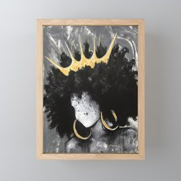 Naturally Queen III Framed Mini Art Print