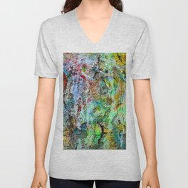 painted wall Unisex V-Neck