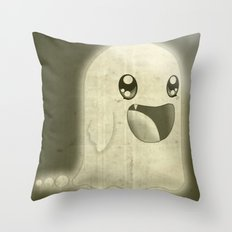 Old Fashioned Ghost Throw Pillow